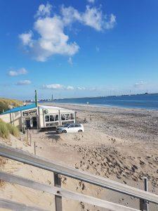 Strandpavillon in Burgh Haamstede in Zeeland